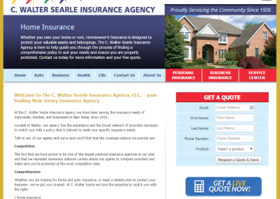 C. Walter Searle Insurance Agency